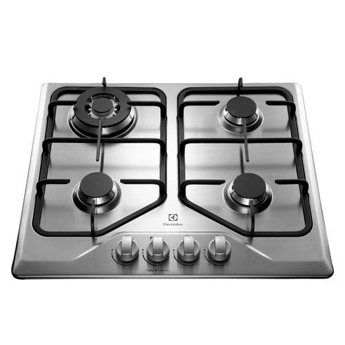 Cocina-Empotrable-Electrolux-60-Cm-Hierro-Fundido-Inox-Gt60x