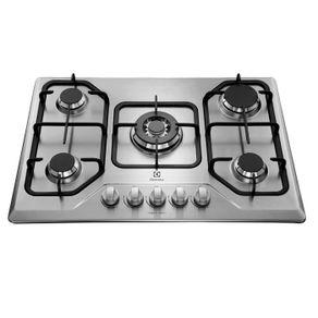 Cocina-Empotrable-Electrolux-60-Cm-5-Quemadores-Inox-Gt75x